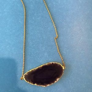 Necklace with a stone